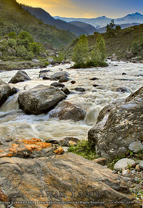 River Kunhar flowing through kaghan valley