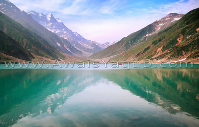 Lake Saif al malook, Pakistan is house of some beautiful lakes.