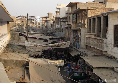 view of old bazar from Grand maosque