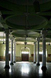 Inside main hall roof is dome shape to keep temprature cool in this region of Pakistan summer time is extremely hot