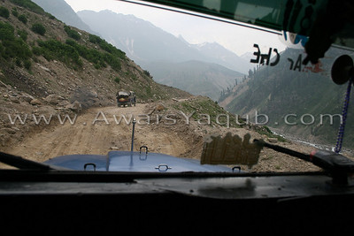 Road to lake from Naran