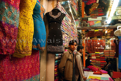 Another view of Rangeela Bazzar it is famous place for women to shop