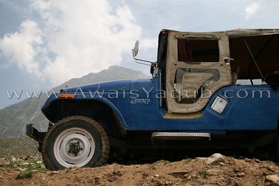 Our great jeep that took us to lake. One can hire the jeep from Naran its easy