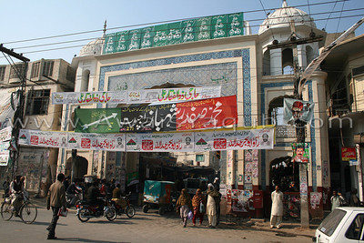 Popular Freed Gate in Bahwalpur, In early days gate was entrance to the city